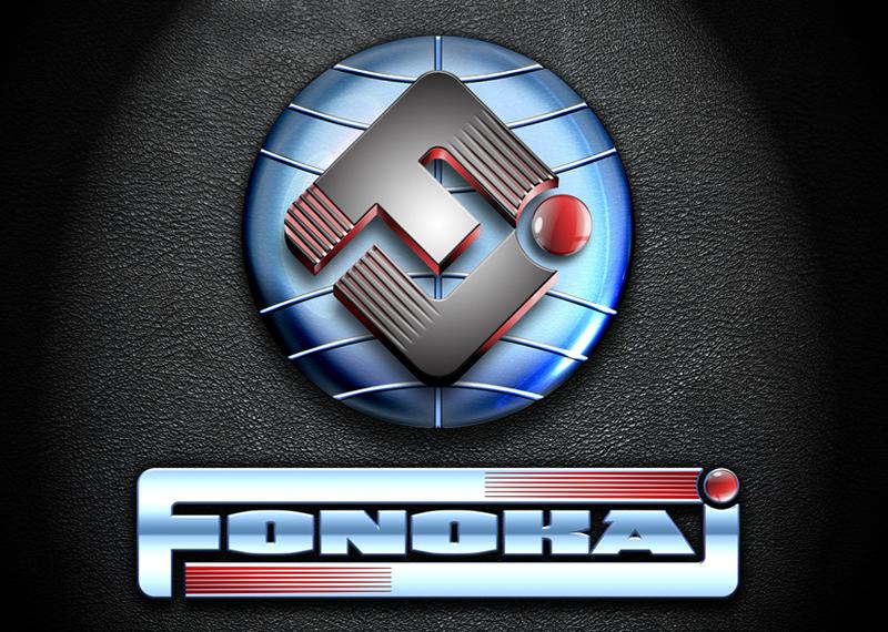 "Projekt logotypu firmy ""Fonokaj""."