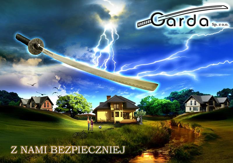 Projekt kalendarza firmy GARDA