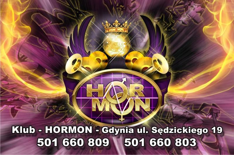 Ulotka klubu Hormon