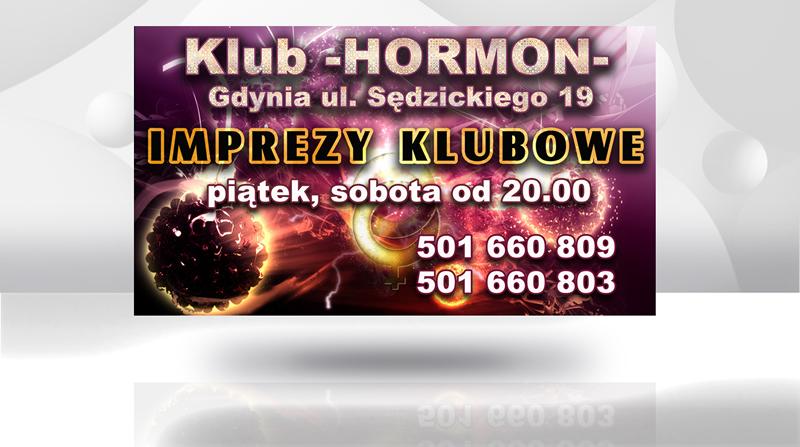 Projekt baneru klubu Hormon z Gdyni