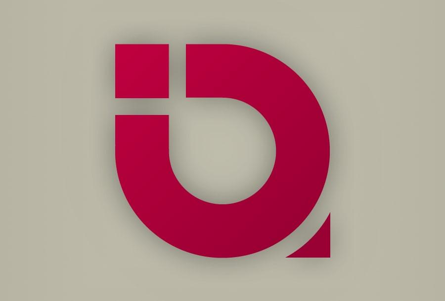 """Logotyp firmy """"Biba visual communication"""""""